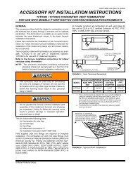 ACCESSORY KIT INSTALLATION INSTRUCTIONS - UPGNet