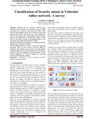 Classification of Security attack in Vehicular Adhoc network: A survey