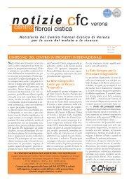N. 21, Anno 7, Marzo 2012 - Centro Regionale Veneto Fibrosi Cistica