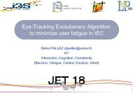 Eye-Tracking Evolutionary Algorithm to minimize user fatigue in IEC