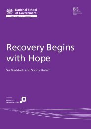 Recovery Begins with Hope - Recovery Devon