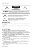 User Manual_SNV-3080_ITALIAN_Web.indb - DOMUSWIRE - Page 2