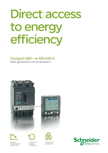 Compact NSX 100-630 A - Schneider Electric