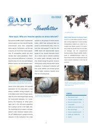 -Newsletter - Geomar