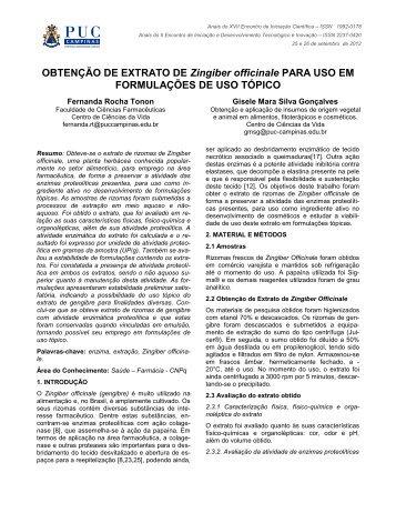 visualizar resumo expandido - PUC-Campinas