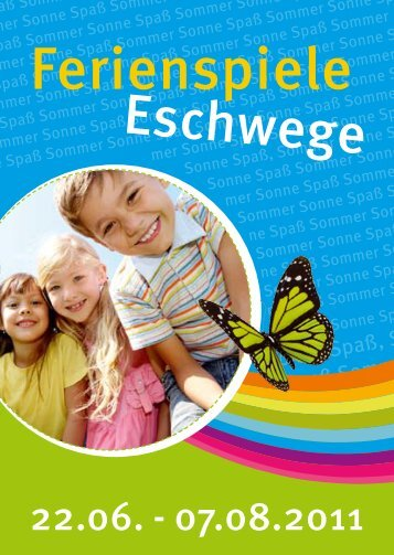Ferienspiele Eschwege - Werratal Tourismus