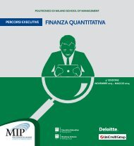 Brochure - Department of Mathematics - Politecnico di Milano