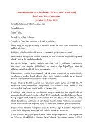 Yusufeli temel atma merasimi - Devlet Su İşleri Genel Müdürlüğü