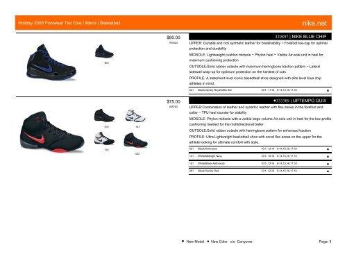 Holiday 2008 Footwear Tier One - x308.com