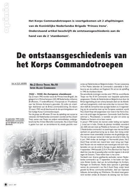 Lkol inf P.J.M. Laseroms (Carré 3, 2007) - Boekje Pienter