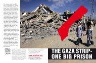 The Gaza Strip - One Big Prison - Insert - B'Tselem
