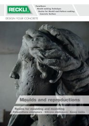Moulds and reproductions - RECKLI GmbH: Home