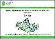 SP135 (Albiate, Triuggio, Sovico, Macherio, Biassono, Lesmo, Arcore)
