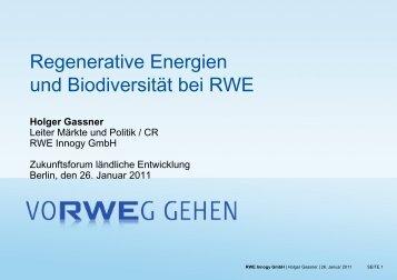 Holger Gassner - Biodiversität - schützen.nutzen.leben