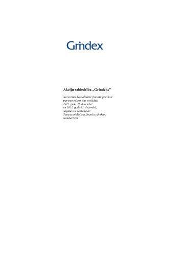 """Akciju sabiedrība """"Grindeks"""" - NASDAQ OMX Baltic"""