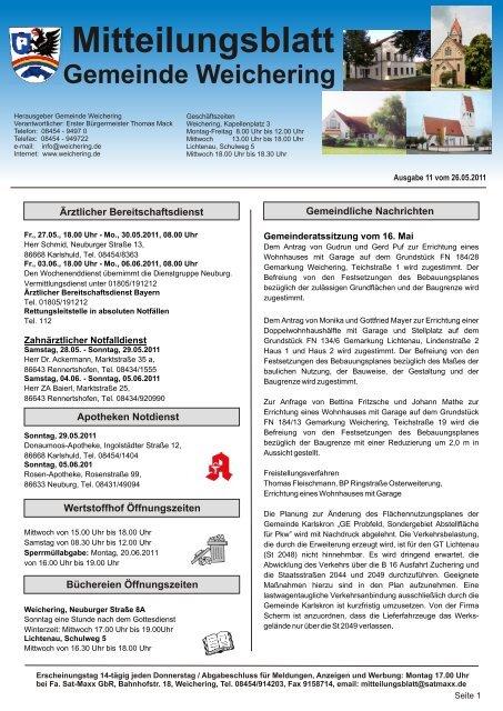 Tel.: 08454 / 914 203 www.satmaxx.de - Weichering