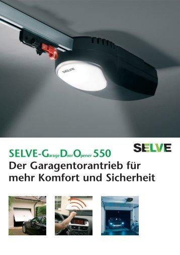 Garagentorantrieb GDO550 - Selve