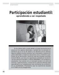 Participación estudiantil: aprendiendo a ser ... - Revista Docencia