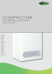 Vokera Compact HE Combi Boilers 25,29,35 Leaflet - BHL.co.uk