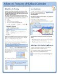 Focus on Outlook Calendar Quick Reference card.pub - Page 4