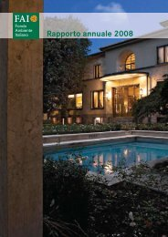 Scarica il Rapporto annuale 2008 del FAI (pdf - 3 MB)