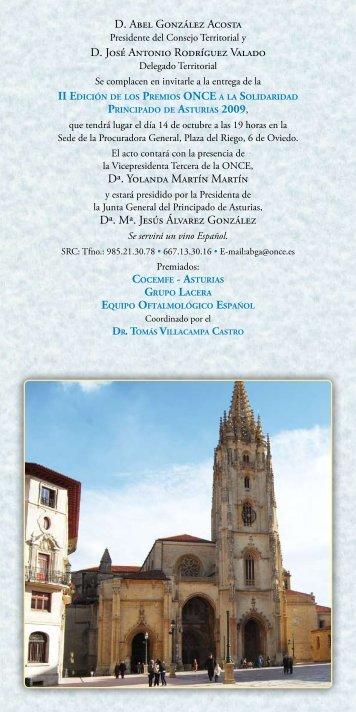 Invitación (pdf) - Cajastur