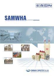 SAMWHA - Product Catalouge