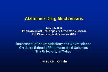 Alzheimer Drug Mechanisms