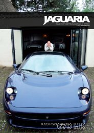 XJ220 med - Jaguar Club of Denmark