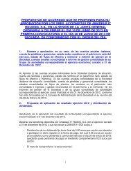 propuestas de acuerdos que se proponen para su aprobación por ...