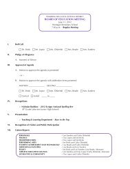 June 11 Agenda - Pickerington Local School District