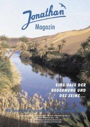 Magazin - Jonathan Seminarhotel