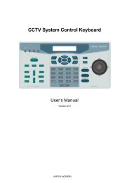CCTV System Control Keyboard - Kelryan Group