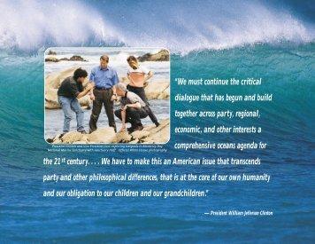 Turning to the Sea: America's Ocean Futur - NOAA Office of Public ...
