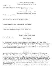 Gregory v USPS, 91 MSPR 52 - MSPB Watch