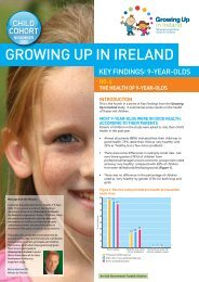 No.4 The Health of 9-Year-Olds - Growing Up in Ireland