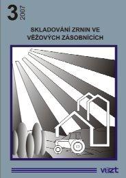 Příručka 2007/3 - Skladování zrnin ve věžových zásobnících - SVT