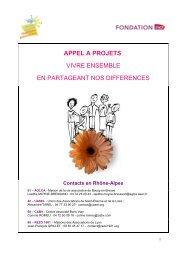 appel a projets - Rhône-Alpes Solidaires
