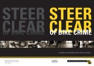 Steer Clear of Bike Crime