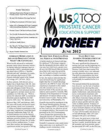 View Newsletter - US TOO International