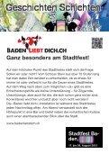 Baden ist. Kultur - Veranstaltungen - Baden - Seite 5