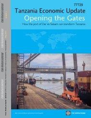 How the Port of Dar es Salaam Can Transform Tanzania - World Bank