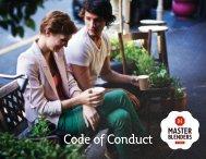 Code of Conduct - DE Master Blenders 1753