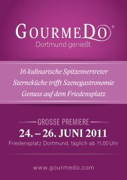 24. – 26. Juni 2011 - GourmeDo