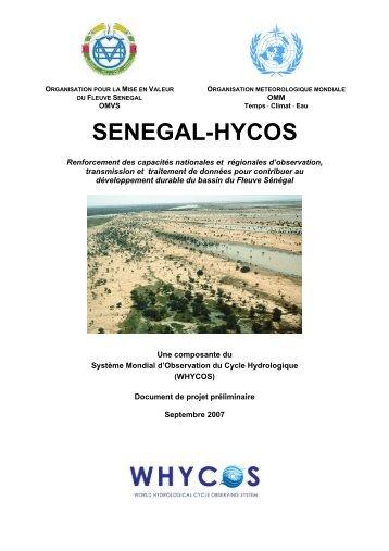 SENEGAL-HYCOS - WHYCOS
