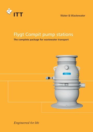 Flygt Compit Pump Stations brochure - Water Solutions