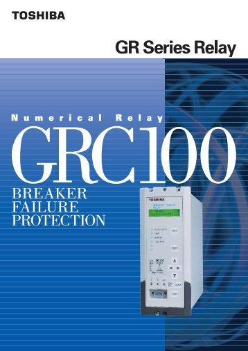 GRC100 6632-1.2 (PDF:1032kb) - Toshiba