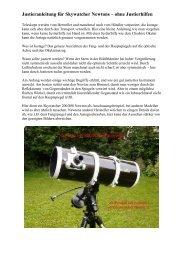 Justieranleitung für Skywatcher Newtons – ohne ... - Teleskop