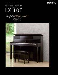 LX-10F Brochure - Roland