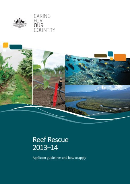 Reef Rescue2013–14 Applicant guidelines and how to apply